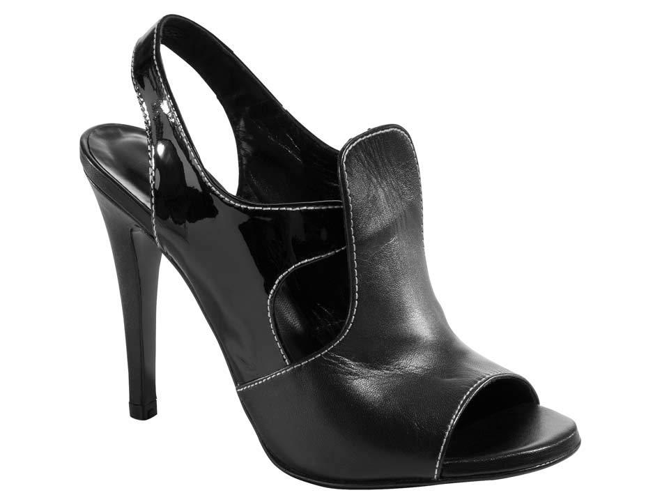 Dámské sandále černé (Heine)