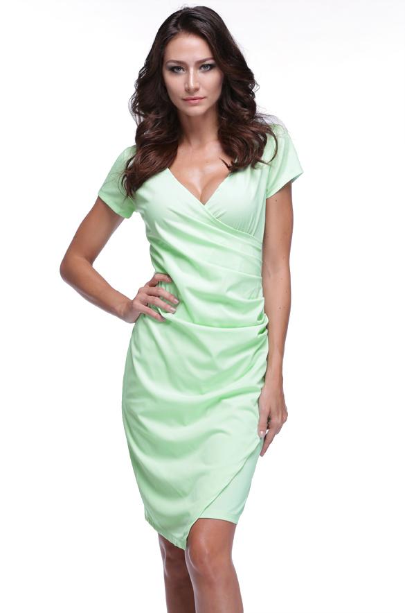 Dámské zavinovací šaty  e592f3b2579