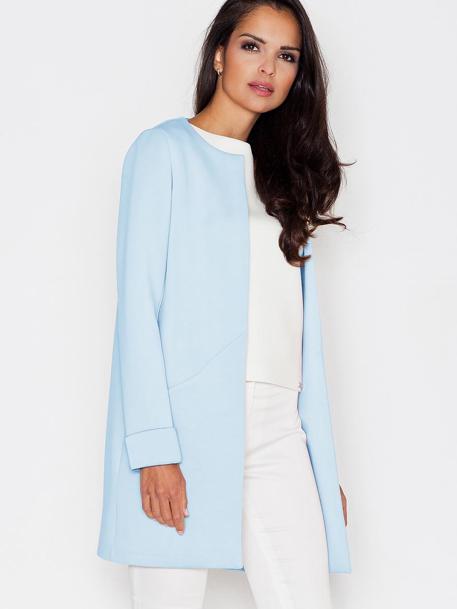 Dámská bunda sako modré (Figl )