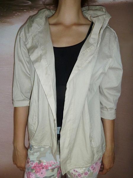 00* Dámská letní bunda - sportovní sako BÉŽOVÉ