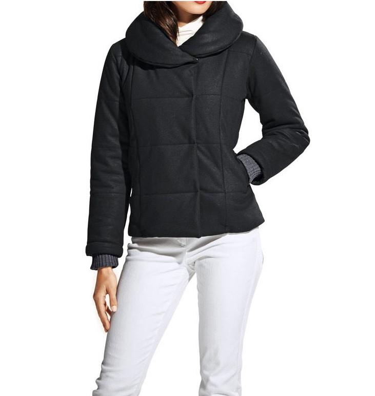 Dámská bunda zimní prošívaná černá (Heine)