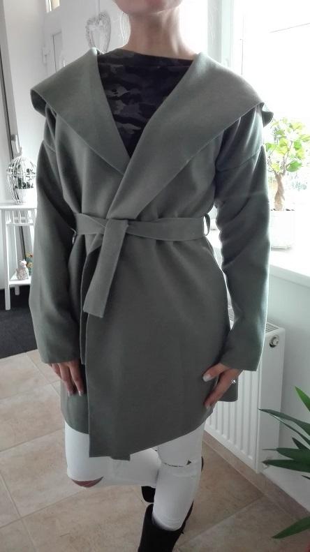 00* Dámský jarní kabátek/ trenčkot khaki
