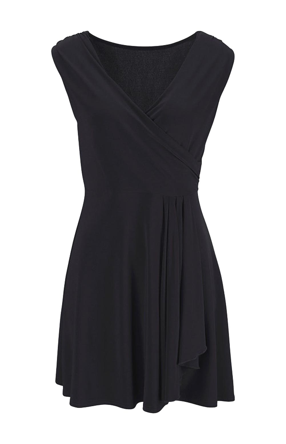 Dámské šaty letní černé (Melrose)
