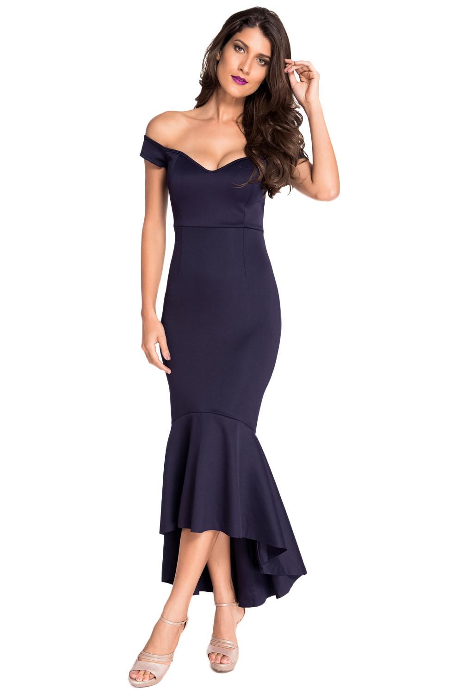 c747e5226ad Dámské sexy večerní šaty mořská panna