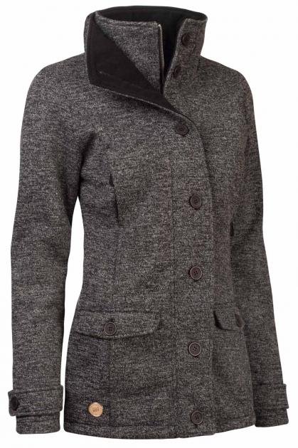 Zimní kabát dámský Woox Ovis Concha Gray Chica