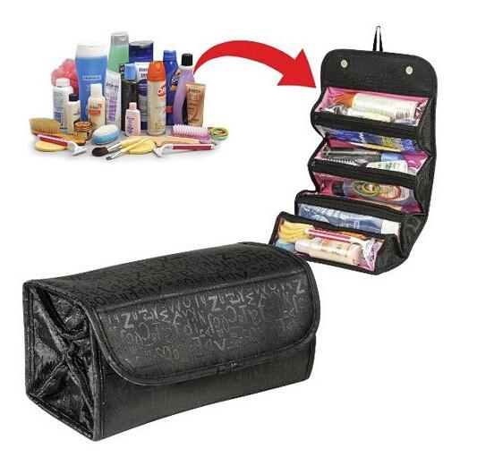 ROLL-N-GO kosmetická taštička/organizér - černá