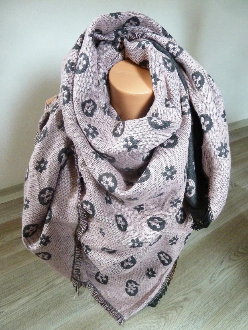 001 Dámský zimní šátek masivní oboustranný III. e5b0ca96eb