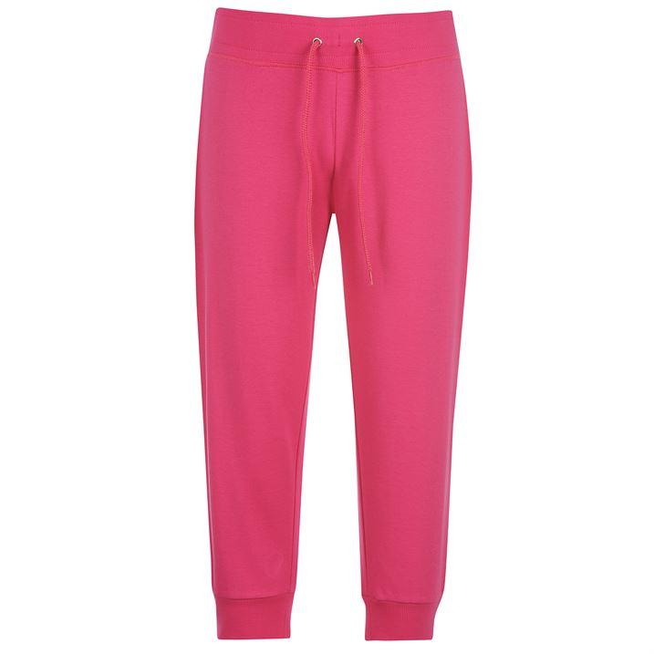 Dámské 3/4 kalhoty Miss Fiori pink (Velikost XL / UK16)