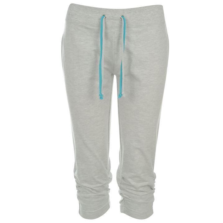Dámské 3/4 kalhoty Miss Fiori šedé (Velikost M / UK12)
