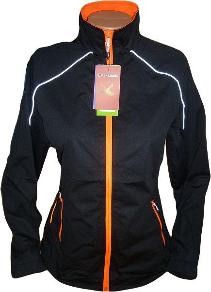 Dámská lehká sportovní bunda BLACK (Velikost : M)