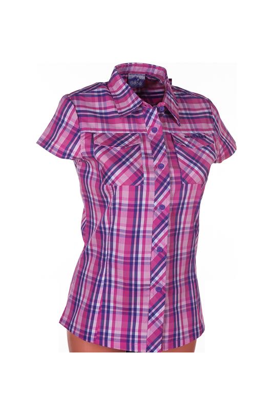 Dámská košile ENVY GALLINERA FIALOVÁ (Velikost : 38)