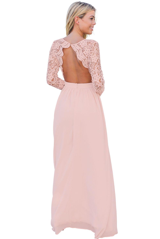 02 Společenské šaty s krajkovým živůtkem růžové 1280a60c1d