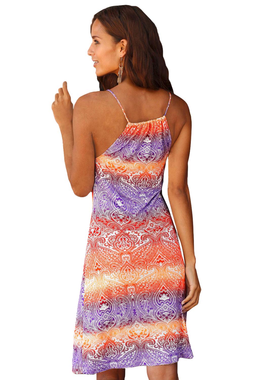Dámské šaty letní etno oranž  d2b9ffd4fa
