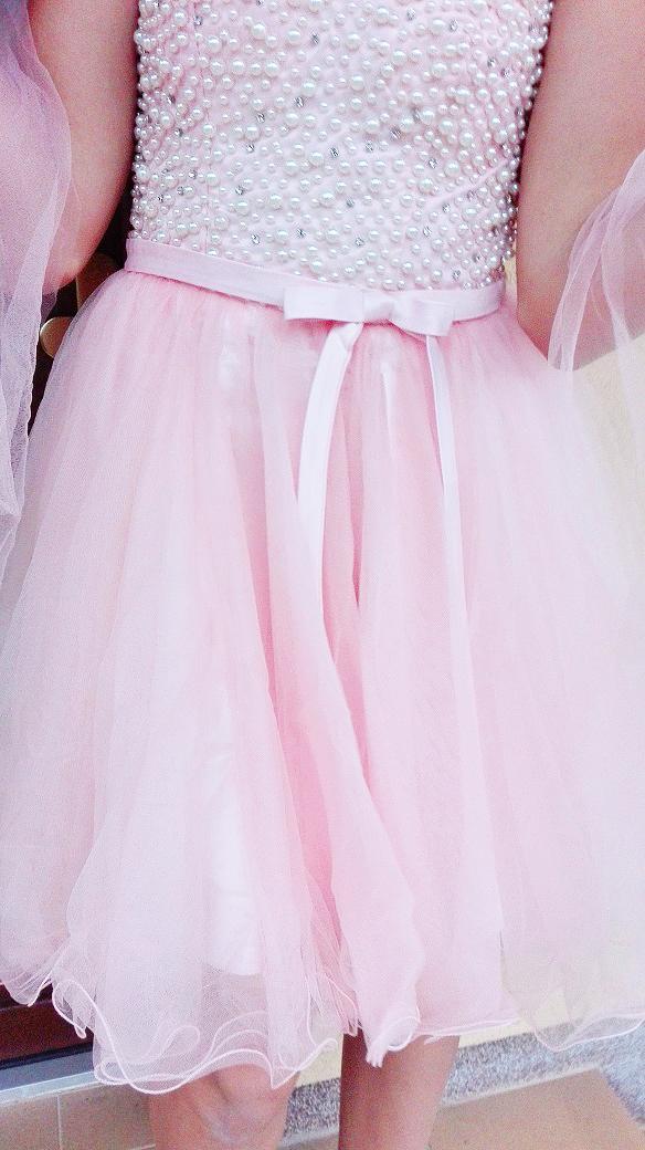 d7f043653b9 Plesové šaty - koktejlky korzetové růžové