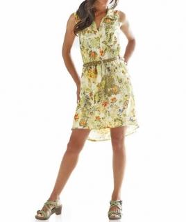 Barevné letní šaty designer-Georgette 49c1a30823