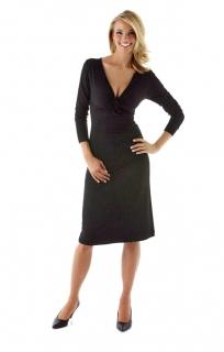 806b51132df5 006 Dámské černé šaty klasické