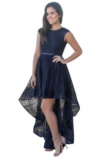 02 Společenské krajkové šaty tm. modré 13411011c3